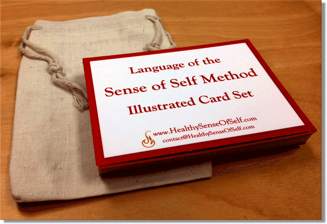Language of the Sense of Self Method -- Illustrated Card Set