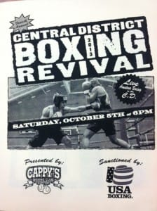 HySoS Cappys CD Boxing Revival