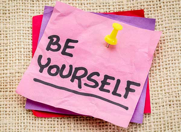 Be Yourself! Ebook Signup Offer