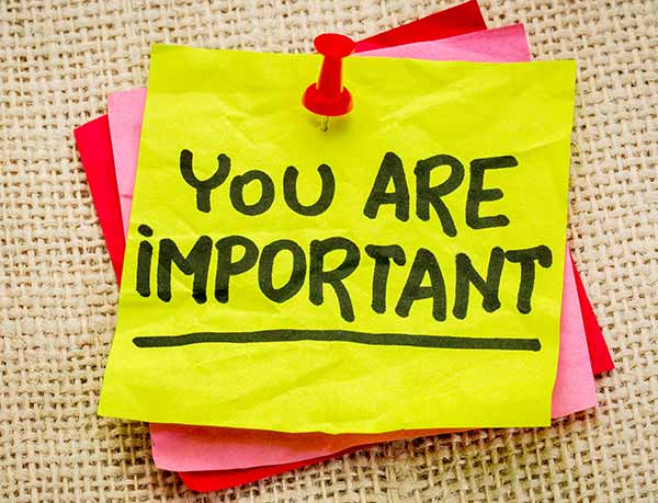 You Are Important - Ebook Offer
