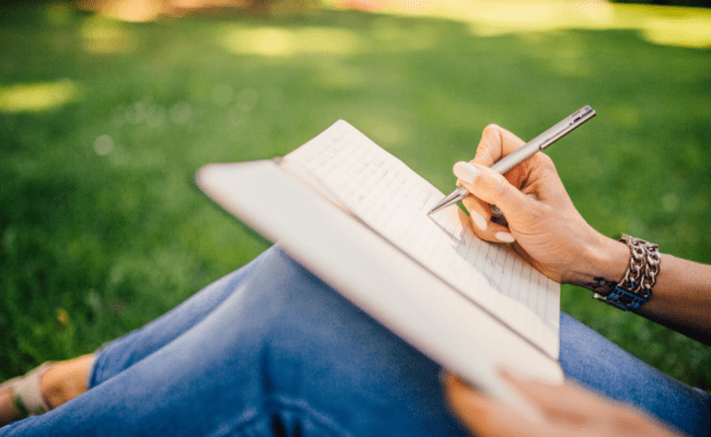 write in a journal